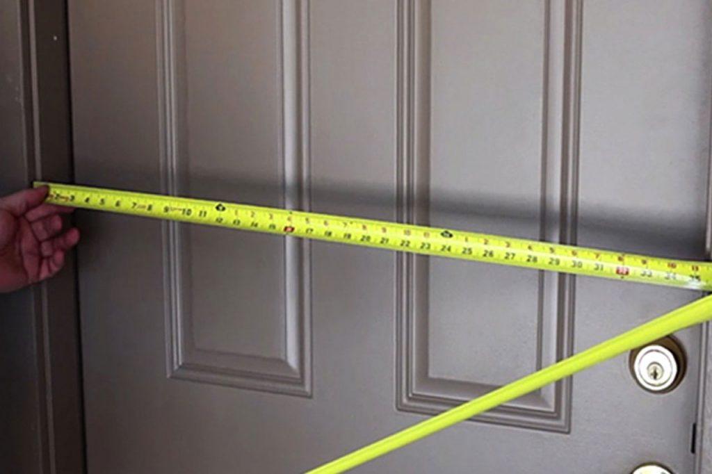 Как правильно замерить дверной проем