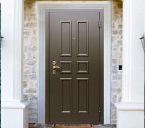 Двери с 3D металлофиленкой
