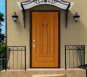 Двери для коттеджа