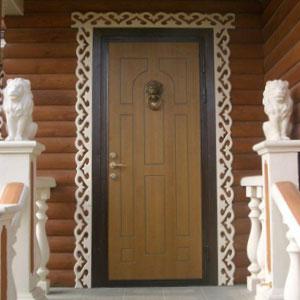 Двери на дачу