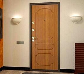 Двери с отделкой МДФ шпон и ПВХ