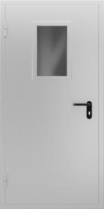 Тамбурная дверь Т38 вид внутри