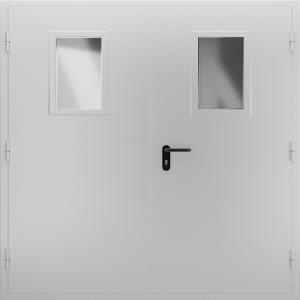 Техническая дверь ТД12 вид снаружи