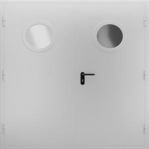 Техническая дверь ТД13 вид снаружи