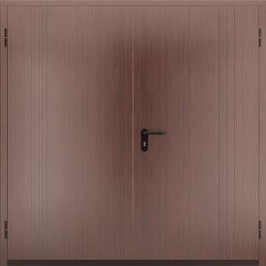 Глухая противопожарная дверь ДМП 02 №57 EI15 вид снаружи