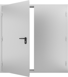 Глухая противопожарная дверь ДМП 02 №52 EI15 вид внутри
