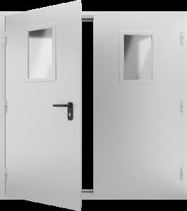Техническая дверь ТД12 вид внутри