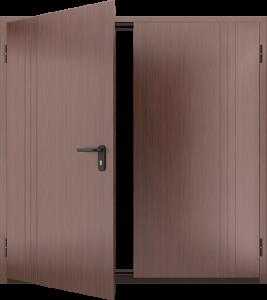 Глухая противопожарная дверь ДМП 02 №57 EI15 вид внутри