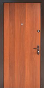 Входная дверь КВ256 вид внутри