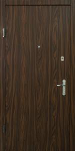 Входная дверь КВ134 вид внутри