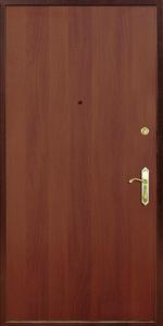 Входная дверь КВ43 вид внутри