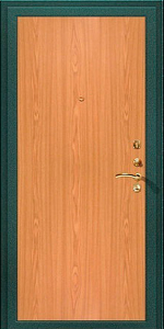 Входная дверь КВ138 вид внутри