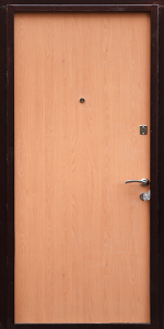 Тамбурная дверь Т110 вид внутри