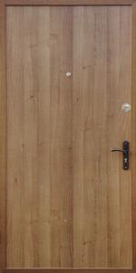 Готовая дверь ГД65 вид внутри