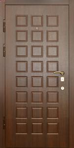 Входная дверь КВ240 вид внутри