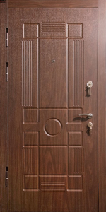 Входная дверь КВ244 вид внутри