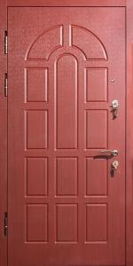 Входная дверь КВ247 в загородный дом вид внутри