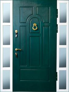 Входная дверь М31 вид снаружи