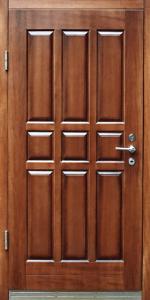 Входная дверь ТР3 вид внутри