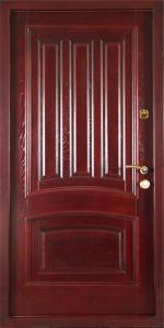 Входная дверь ТР4 вид внутри