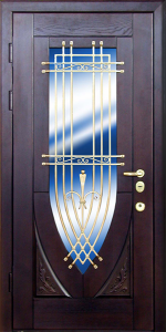 Входная дверь М278 вид снаружи
