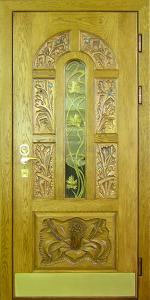 Входная дверь М173 вид снаружи