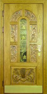 Готовая дверь ГД87 вид внутри
