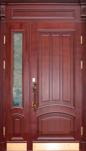 Входная дверь М240 вид снаружи