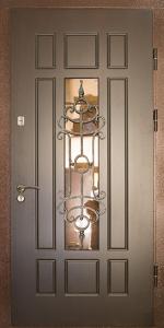 Входная дверь М76 вид снаружи