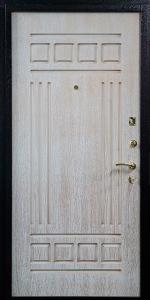 Готовая дверь ГД17 вид внутри