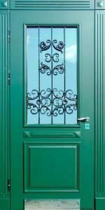 Входная дверь ТР123 вид внутри