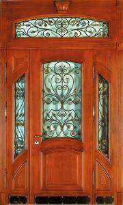 Входная дверь М158 вид снаружи