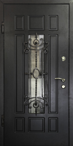 Готовая дверь ГД35 вид внутри