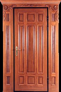 Входная дверь М218 вид снаружи