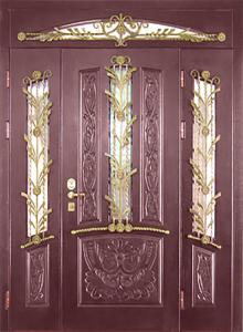 Входная дверь М13 вид снаружи