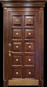 Входная дверь М96 вид снаружи