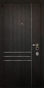 Входная дверь КВ8 вид внутри