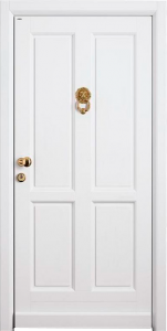 Бронированная дверь Б30 вид снаружи