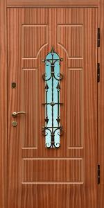 Бронированная дверь Б33 вид снаружи