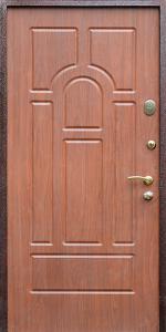 Квартирная входная дверь КВ3 вид внутри
