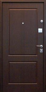 Входная дверь КВ1 вид внутри