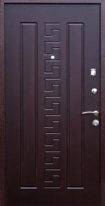 Входная дверь КВ7 вид внутри
