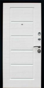 Входная дверь КВ28 вид внутри