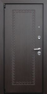 Бронированная дверь Б54 вид внутри