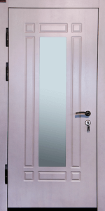 Входная дверь КВ6 вид внутри