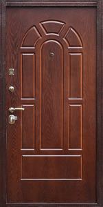 Входная дверь КВ219 в загородный дом вид снаружи