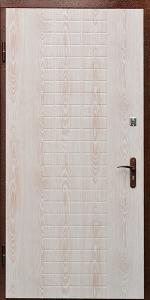 Бронированная дверь Б21 вид внутри