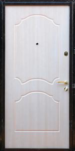 Входная дверь КВ131 вид внутри