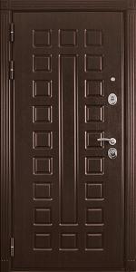 Бронированная дверь Б59 вид внутри
