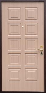 Входная дверь КВ173 вид внутри